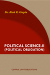 Political Science-II (Political Obligation)